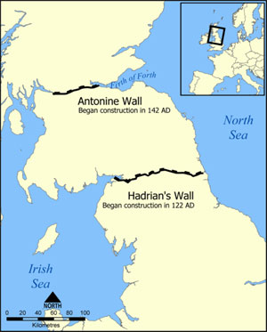 Hadrian's and Antonine Wall