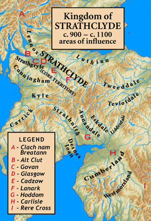 Kingdom of Strathclyde 900 - 1100 AD
