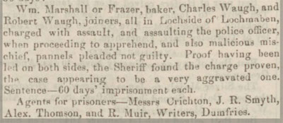 Dumfries and Galloway Standard Wednesday 7 August 1850