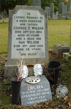 George F. Wilson, Died 20th Sept 1974 aged 47 years