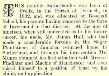This notable Sutherlander...