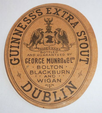 Bottled and Guaranteed by George Munro & Co Ltd