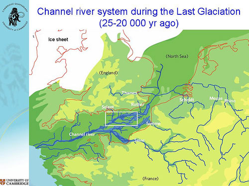 The channel river system during the last glaciation